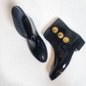 Vivienne Westwood Melissa Button Patent Ankle Boot